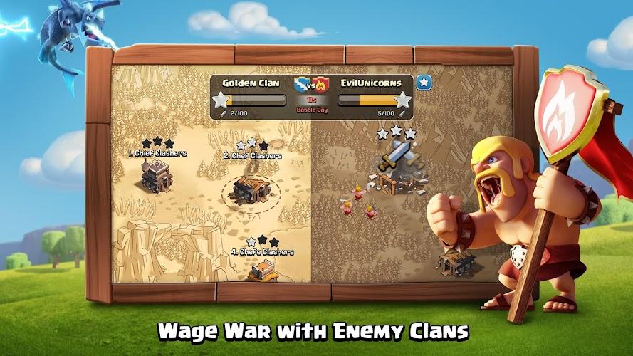 clash of clans apk mod 7.156.5