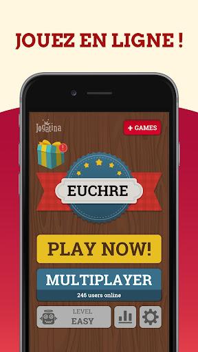 Euchre Jeux De Cartes Gratuit: Jeu Classique  captures d'écran 2