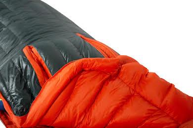 NEMO Riff 15 Men's Sleeping Bag - 800 Fill, Regular, Ember Red/Deep Water alternate image 0