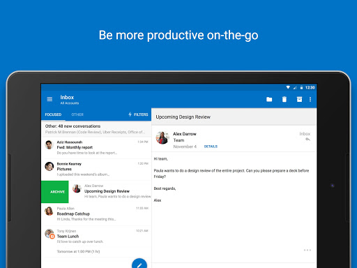 Microsoft Outlook screenshot 17