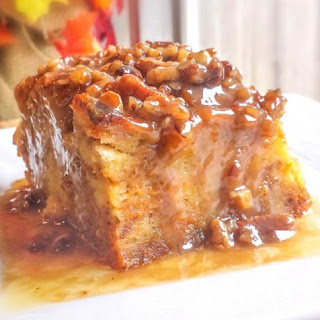 Pumpkin Praline Bread Pudding Recipe