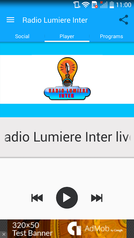 Radio Lumiere Inter- screenshot