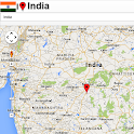 India map icon