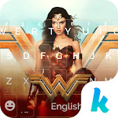 Wonder Woman Kika Emoji Theme