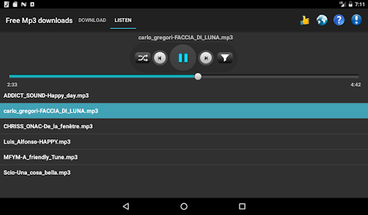 Free Mp3 Downloads APK for Bluestacks