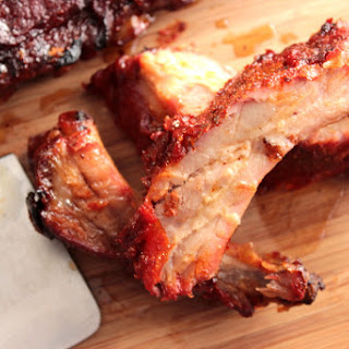 Slow Roasted Baby Back Ribs.