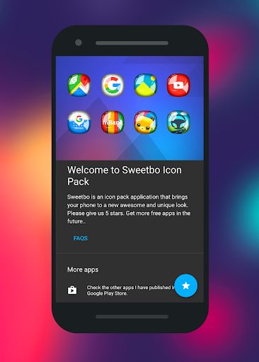 Sweetbo - Icon Pack App Report on Mobile Action