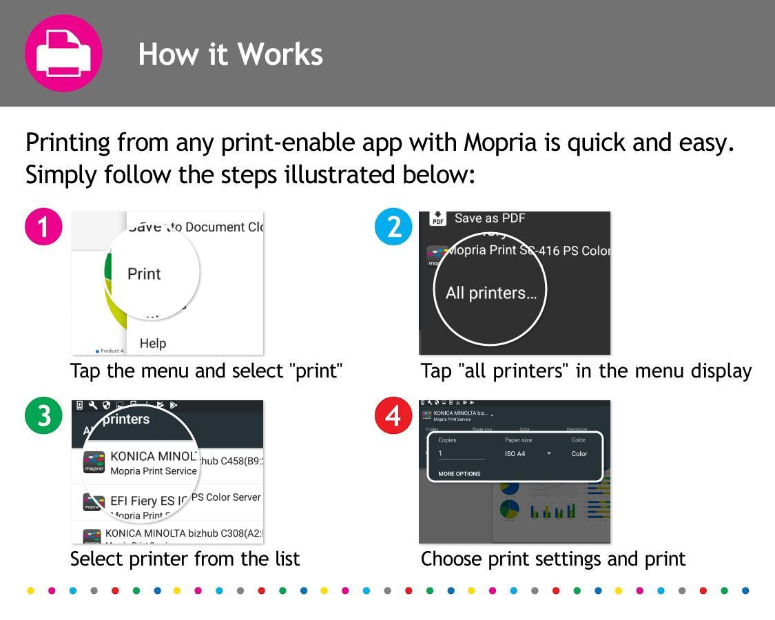 Mopria Print Service Screenshot