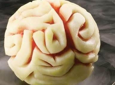 Halloween Watermelon Brain