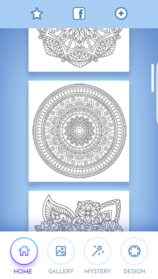 HD wallpapers mandala coloring pages google play