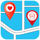 Add GPS Places to Google Maps icon