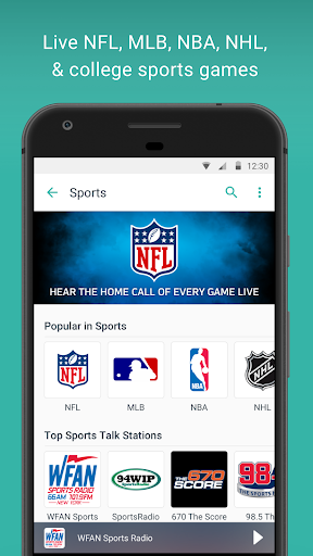 TuneIn Radio: Stream NFL, Sports, Music, Podcasts v18.7 [Pro]