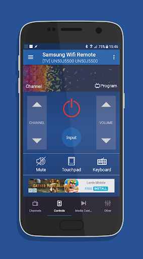 Remote for Samsung Smart TV WiFi Remote 2.2.2 screenshots 1