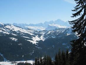Photo: Du Belvédère du mont Chéry ... Le Mont-Blanc