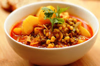 Potato And Sprouted Bean Curry