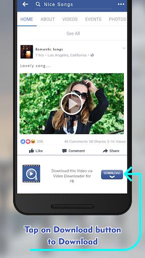 Video Downloader For Facebook -HD Video Downloader 1.0.3 screenshots 4