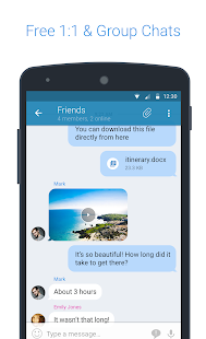 KingsChat - náhled