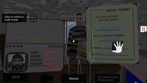 Border Officer astuce APK MOD capture d'écran 1