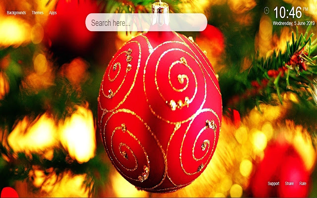 Christmas Decorations Wallpapers&Themes