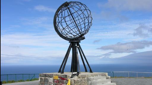 Norvege cap Nord