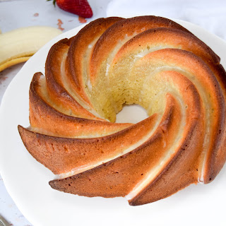 Banana Bread & Coconut Bundt Cake Recipe