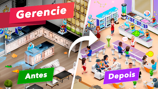 My Cafe Recipes & Stories Apk Mod Dinheiro Infinito 1