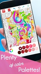 Coloring Book For Adults Free 【ColorWolf】 🐺| 🇺🇸 APK screenshot thumbnail 3