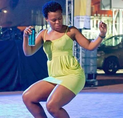 Entertainer Zodwa Wabantu is free to go to Zimbabwe now that Robert Mugabe is out the picture.