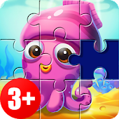 Kids Puzzles 😄 Jigsaw puzzles for kids & toddlers Mod