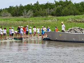 Photo: USFWS boat transported shell 2013