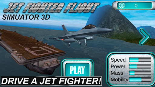 Jet Fighter: Flight Sim 3D