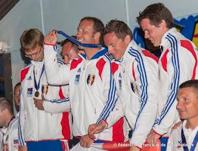 Photo: Médaille d'Or pour l'équipe de France de Voile Contact Rotation, Banjaluka 2014