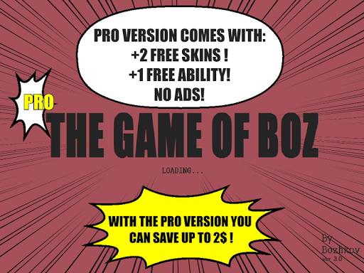 The Game Of Boz PRO