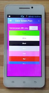 Color Screen Plain 8.0