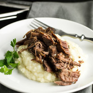 "Slow Cooker Pot Roast with Homemade ""Onion Soup"""