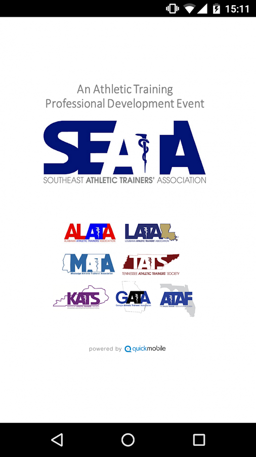SEATA AT Educational Event App- screenshot