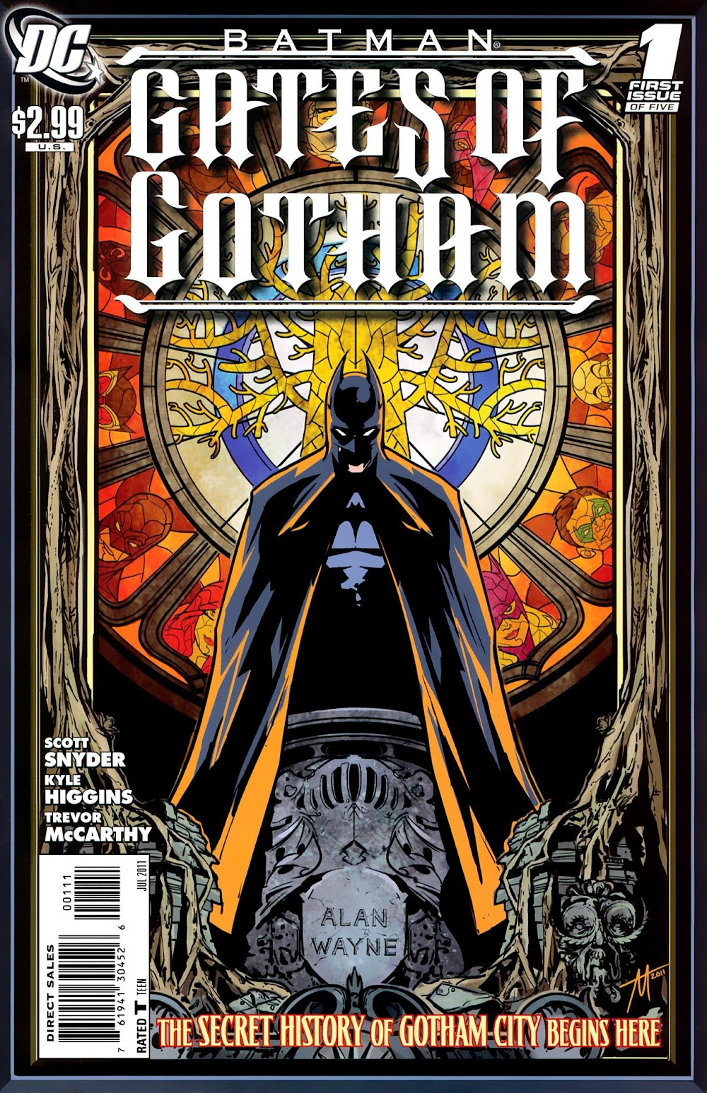Batman - Gates of Gotham (2011) - complete