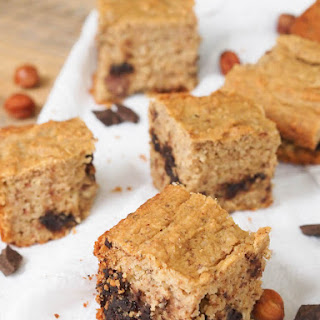 Gluten Free Nutella Blondies