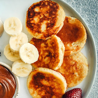 Banana Yogurt Pancakes.