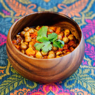 Slow Cooker Chickpea Chili.