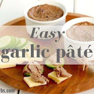 Easy Low Carb Garlic Pate