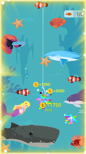 Happy Fishing - Catch Fish and Treasures - screenshot