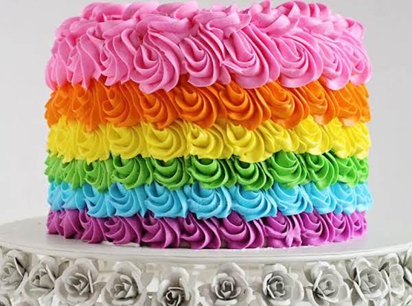 Rainbow Birthday Cake Recipe