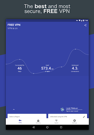 Free and Unlimited VPN - Safe, Secure, Private! 6.3.1003 screenshots 14
