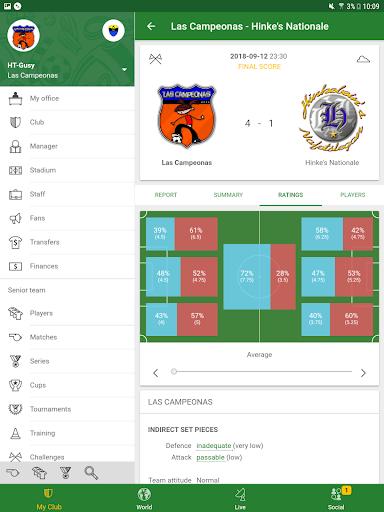 Hattrick Football Manager Game apktram screenshots 14