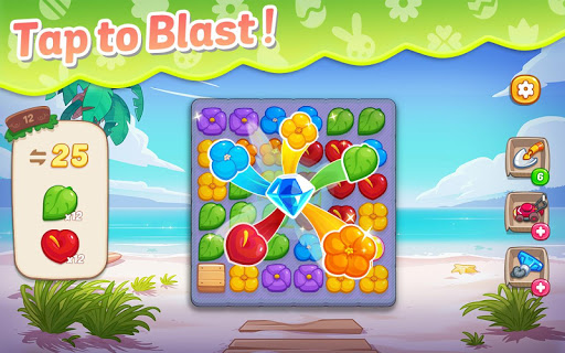 Ohana Island: Blast flowers and build  screenshots 11