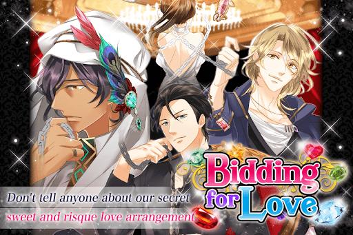 Bidding for Love: Free Otome Games  captures d'u00e9cran 10