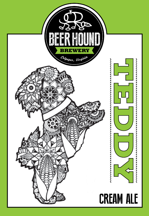 Logo of Beer Hound Teddy