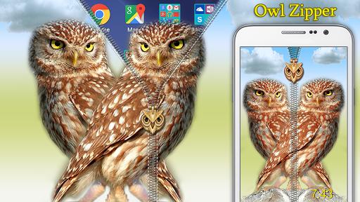 Owl Zipper Lock