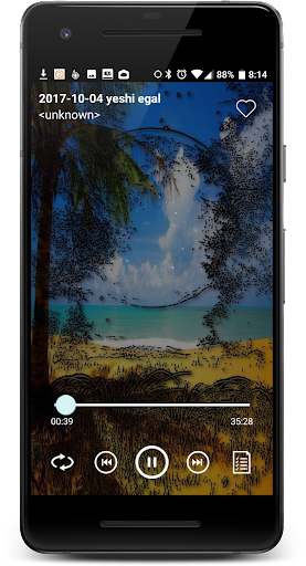 MP3 Music player 1.4 screenshots 1